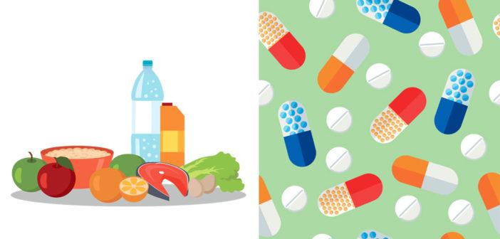 Kost eller vitaminer