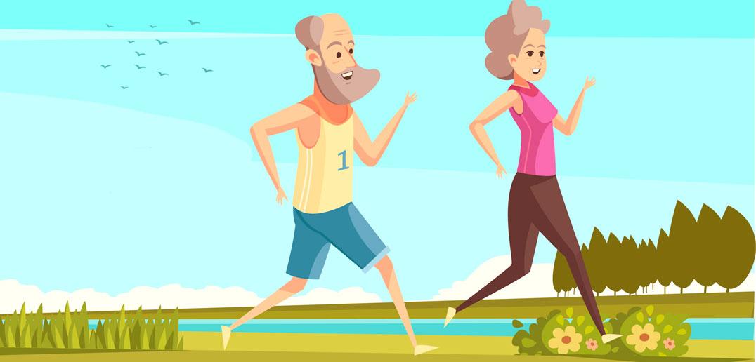 Løb og motion er også godt, hvis du er ramt af slidgigt - kan lindre smerterne